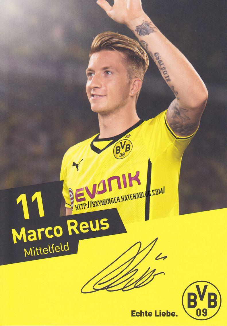 Autogramm Marco Reus