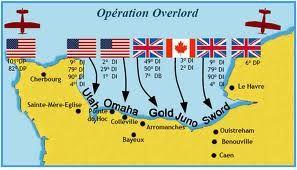 carte des plages du débarquement Plage du debarquement | Plage de normandie, Plage du debarquement