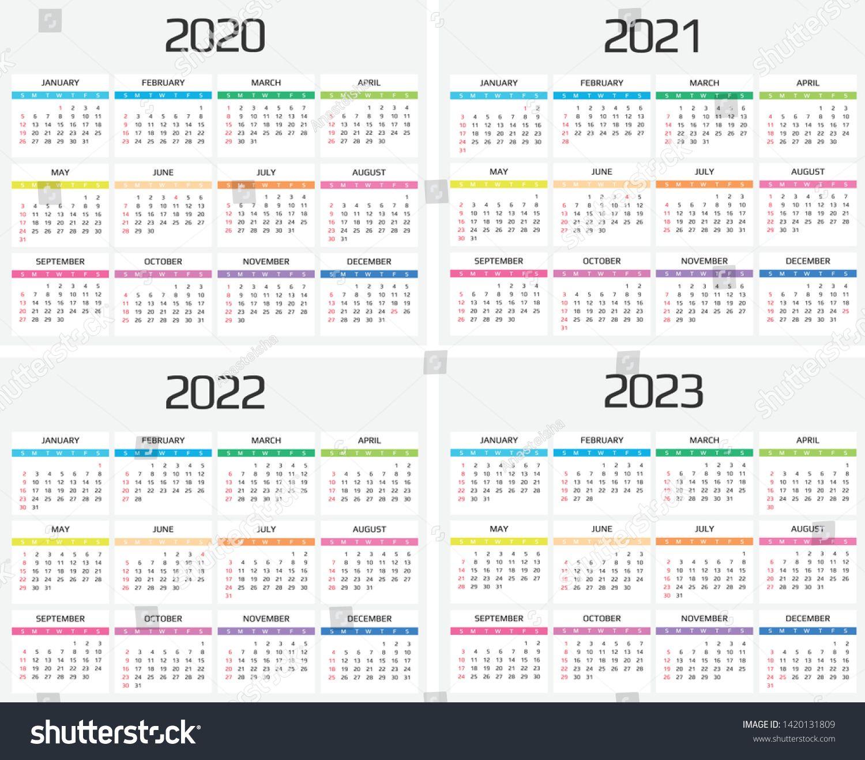 Event Calendar 2022.Calendar 2020 2021 2022 2023 Template 12 Months Include Holiday Event Week Star Calendar Printables Marketing Calendar Template Monthly Calendar Template