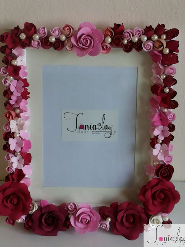 1 great handmade photo frames with flower paper pic pinterest handmade frames u continuous stamp flowers fiskars 2015 2016 sciox Image collections