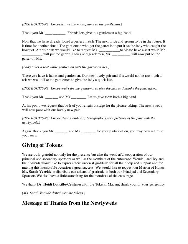wedding ceremony script - Google Search Unionification Ceremony - fresh declaration of conformity template uk