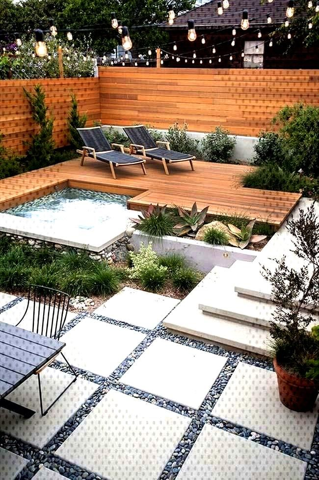Small garden 60 models and inspiring design ideas - New decoration styles - https//pickndec...