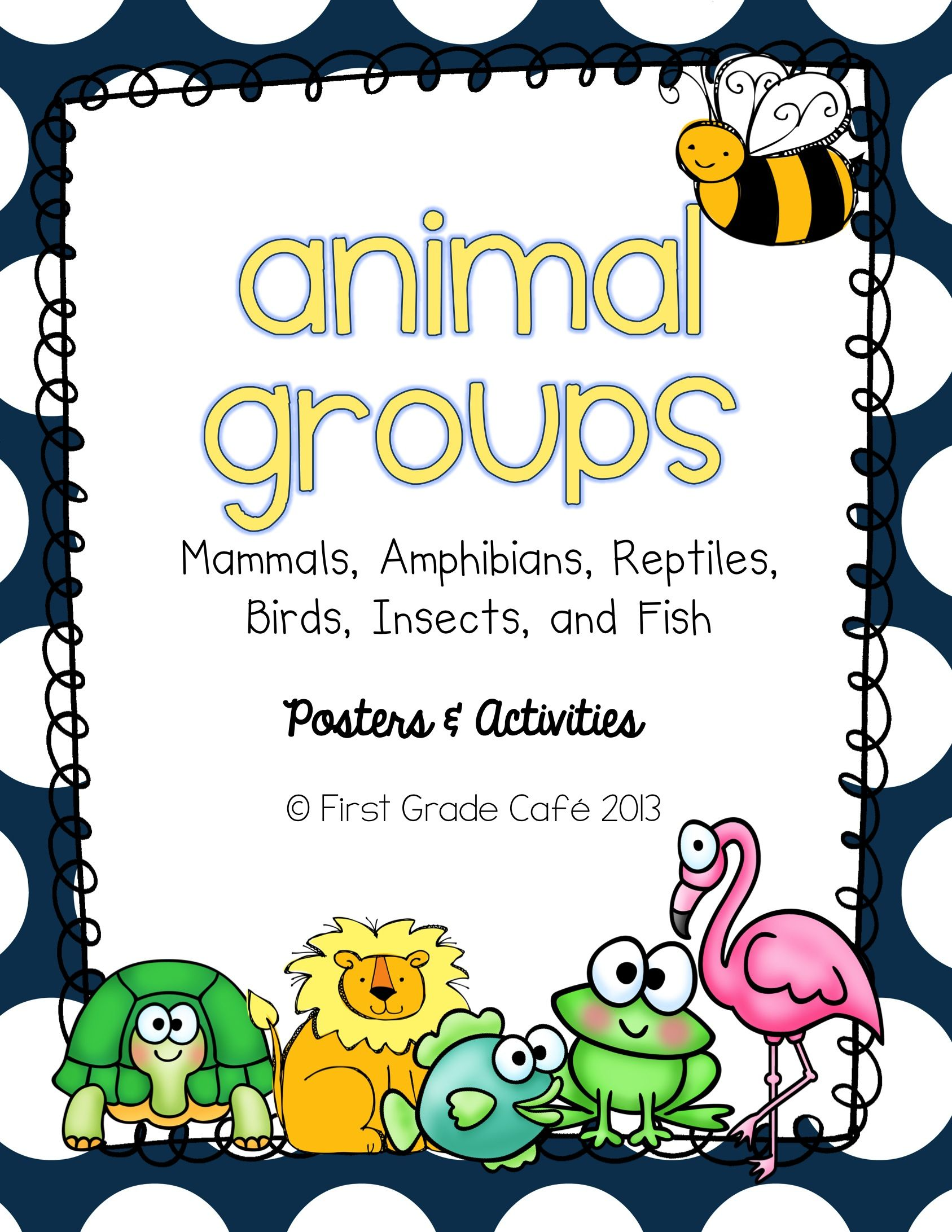 Animal Groups posters and activities. Science