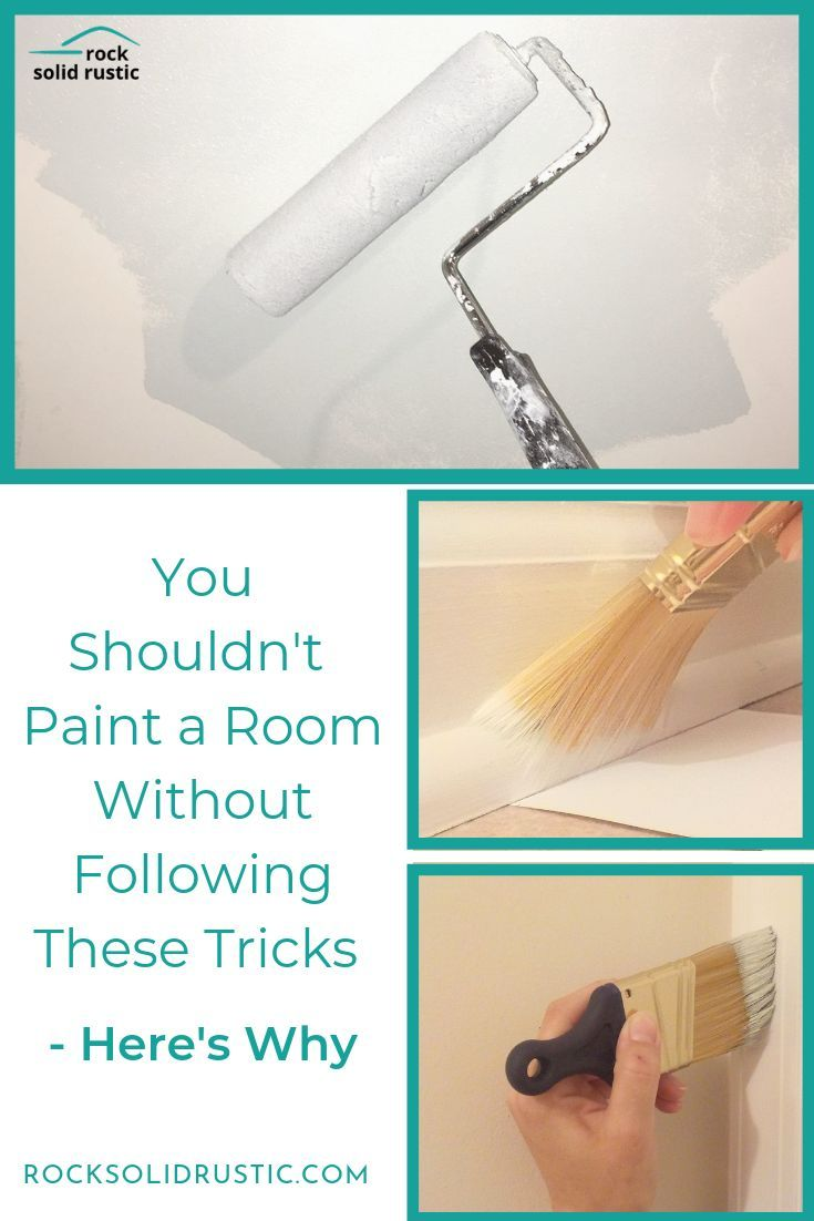 How To Paint A Room Without Tape Room Paint Steps To Painting A Room