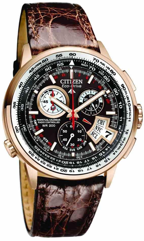 017614078f7 Esta é a mais recente linha de relógios Citizen Eco-Drive Chrono no tempo.  Na foto são dois dos modelos com a versão de aço todas lá em cima e ...