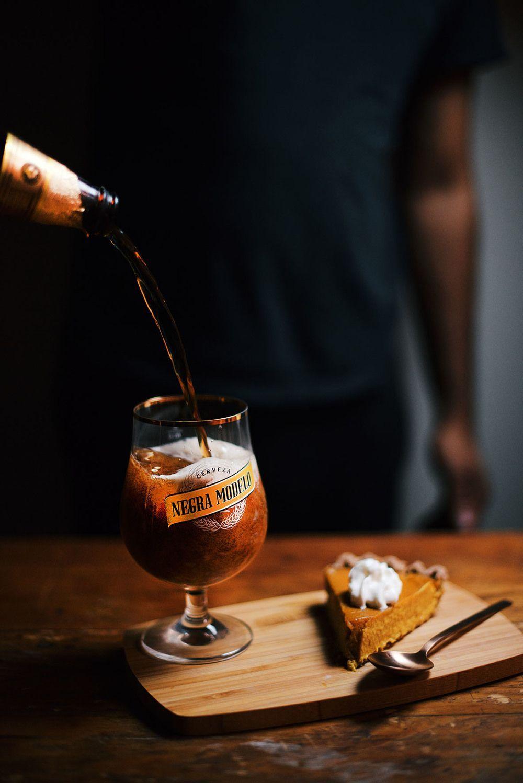 pumpkin honey beer pie A Brown Table Craft beer