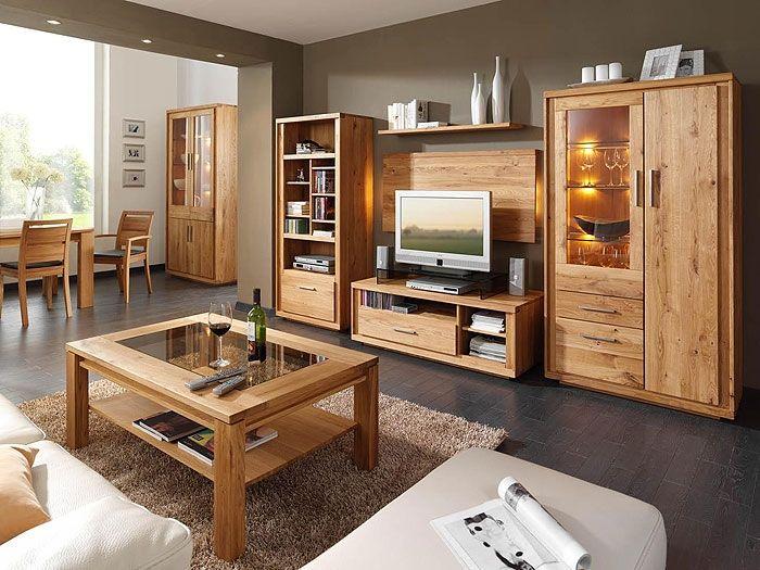 möbel wohnzimmer holz - möbel bild