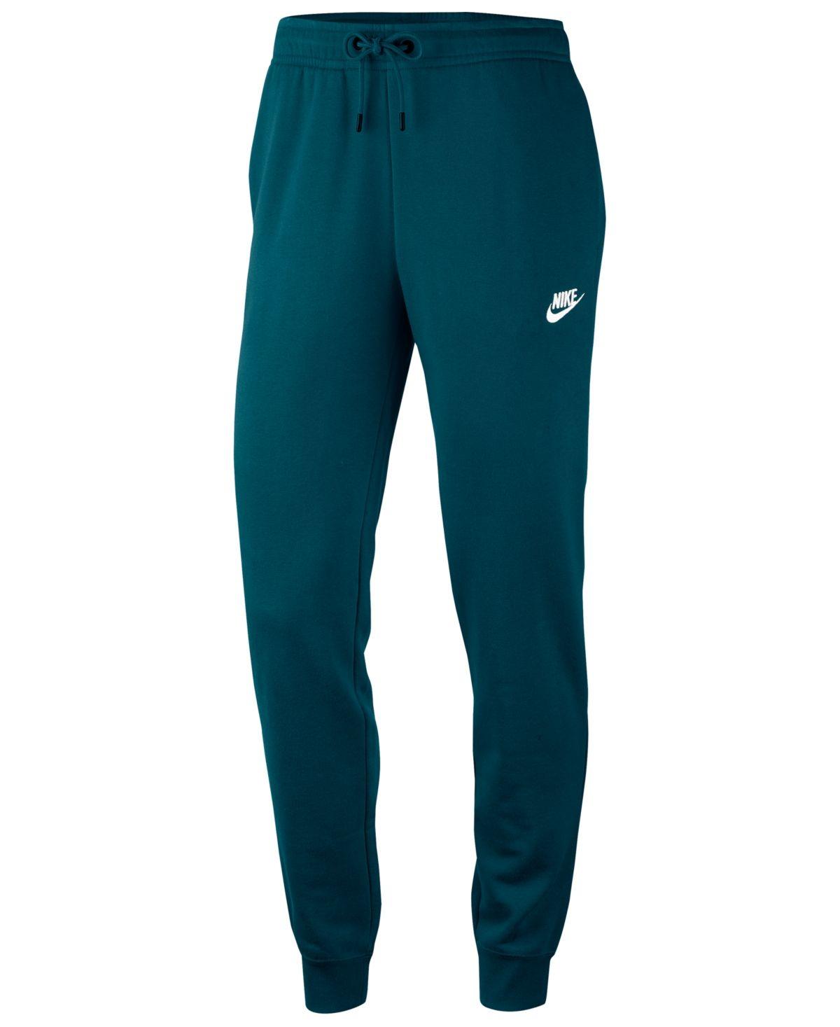 Nike Women S Sportswear Essential Fleece Joggers Reviews Pants Leggings Women Macy S In 2020 Nike Women Outfits Sportswear Women Womens Sweatpants