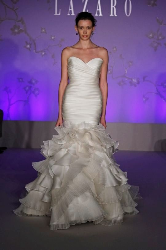 i remember this dress from syttd... lazaro. love