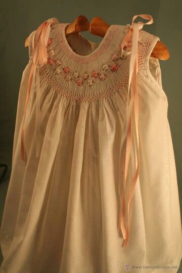 Love The Detail Of This Beautiful Sleeveless Smocked Dress