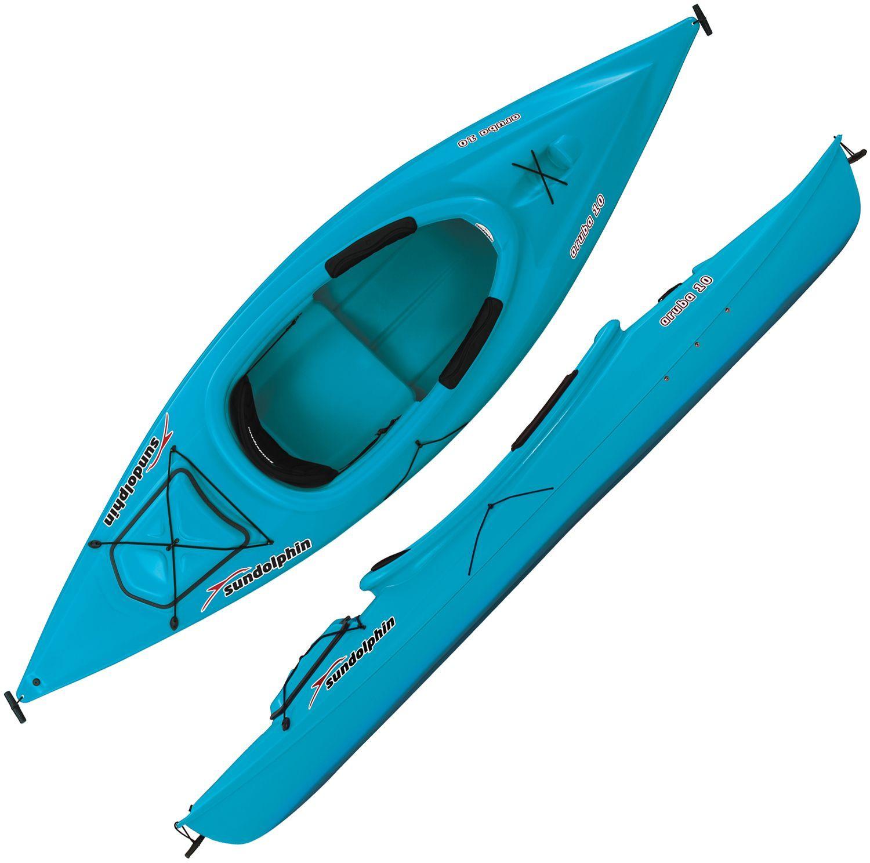 Sun Dolphin Aruba 10 SitIn Kayak Sit on kayak, Kayaking