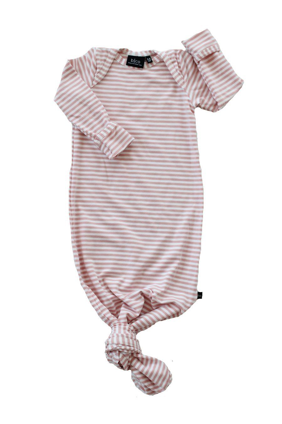 60dbcf270 Knotted Sleeper | Blush Stripe #baby #babies #clothing #clothes  #accessories #cute #kids #infants #adorable #fashion