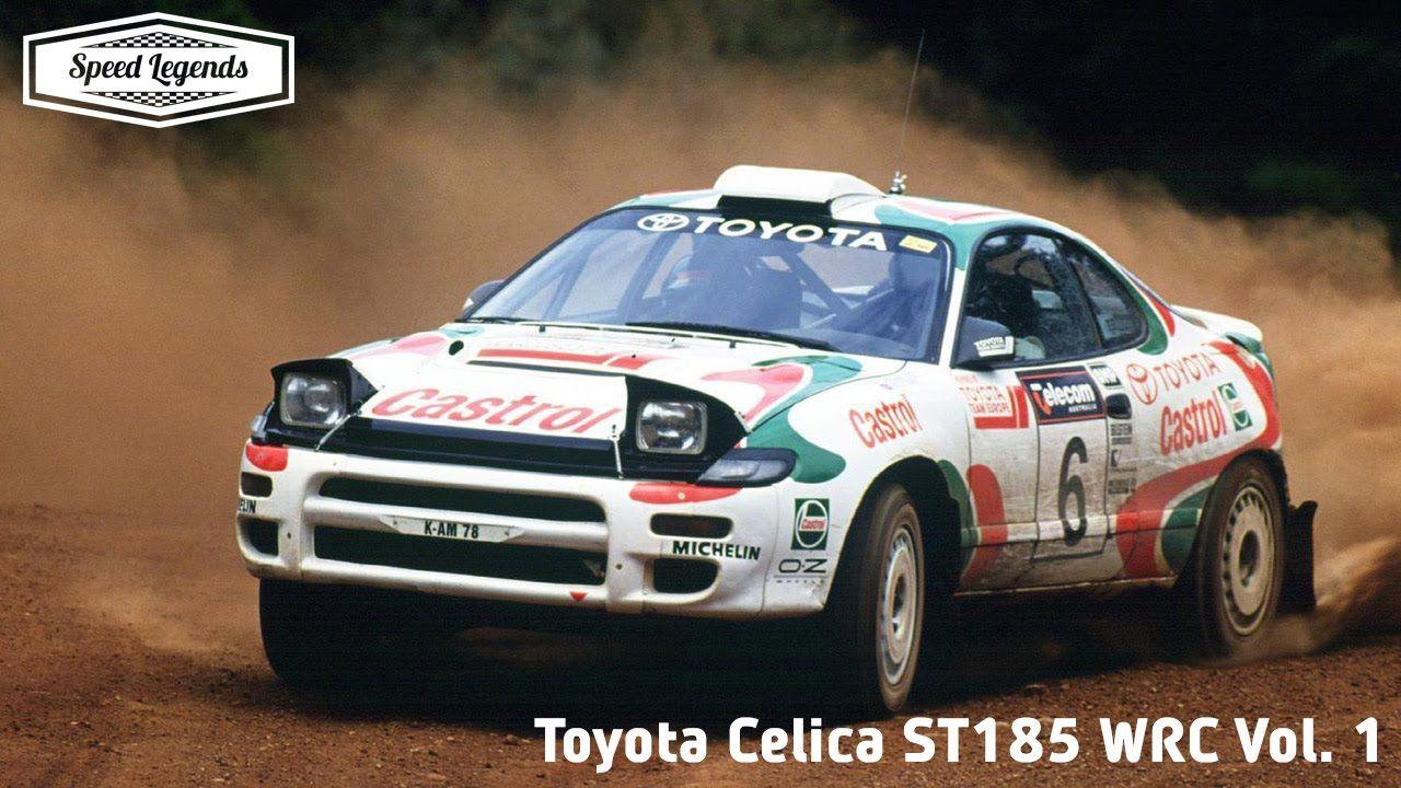 Toyota Celica ST185 WRC Pure Sound Vol. 1 | TOYOTA | Pinterest ...