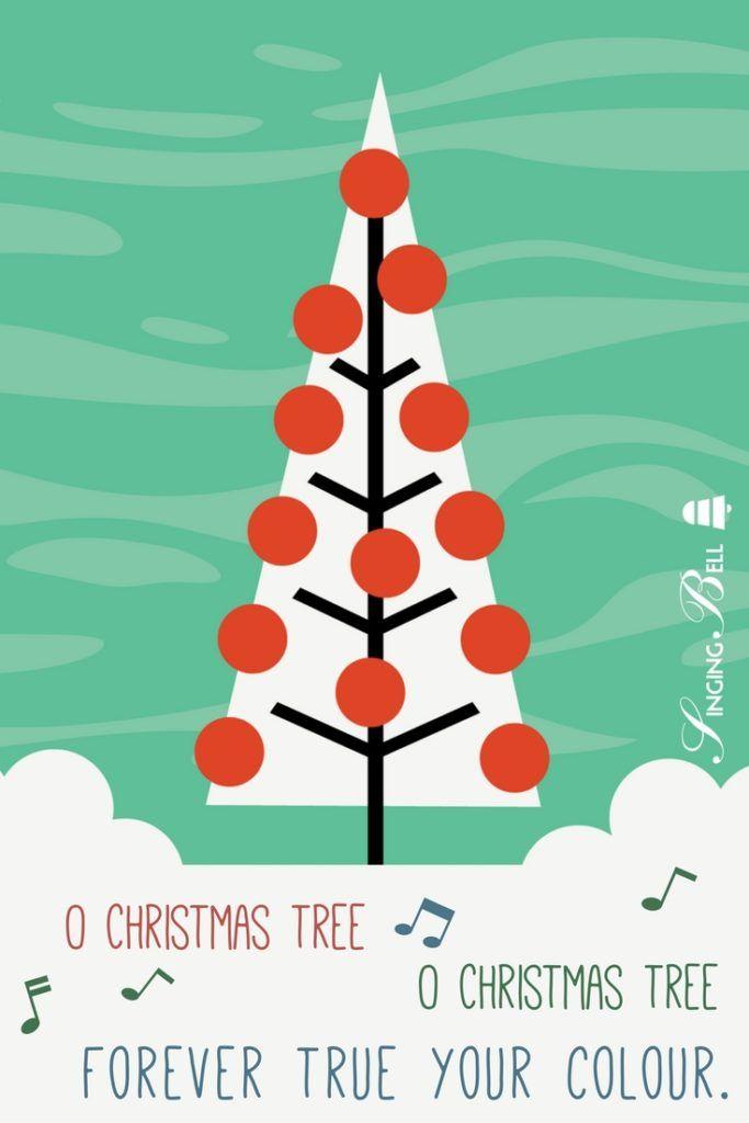 O Christmas Tree O Tannenbaum Free Christmas Carols Christmas Carols Songs Colorful Christmas Tree Free Christmas