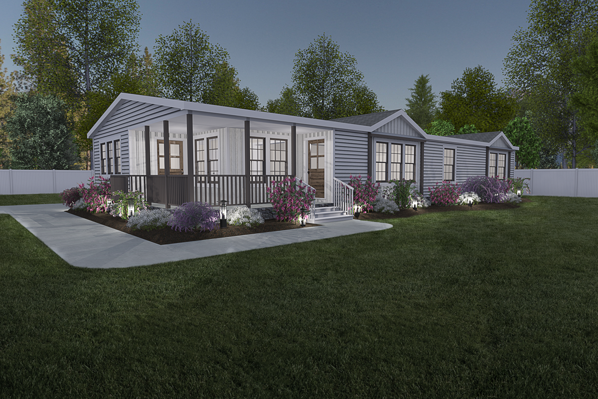 Lulamae double wide home with porch