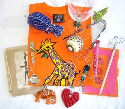 Africa Smiles  Hand-made ethnic gifts and paper  | Artisans