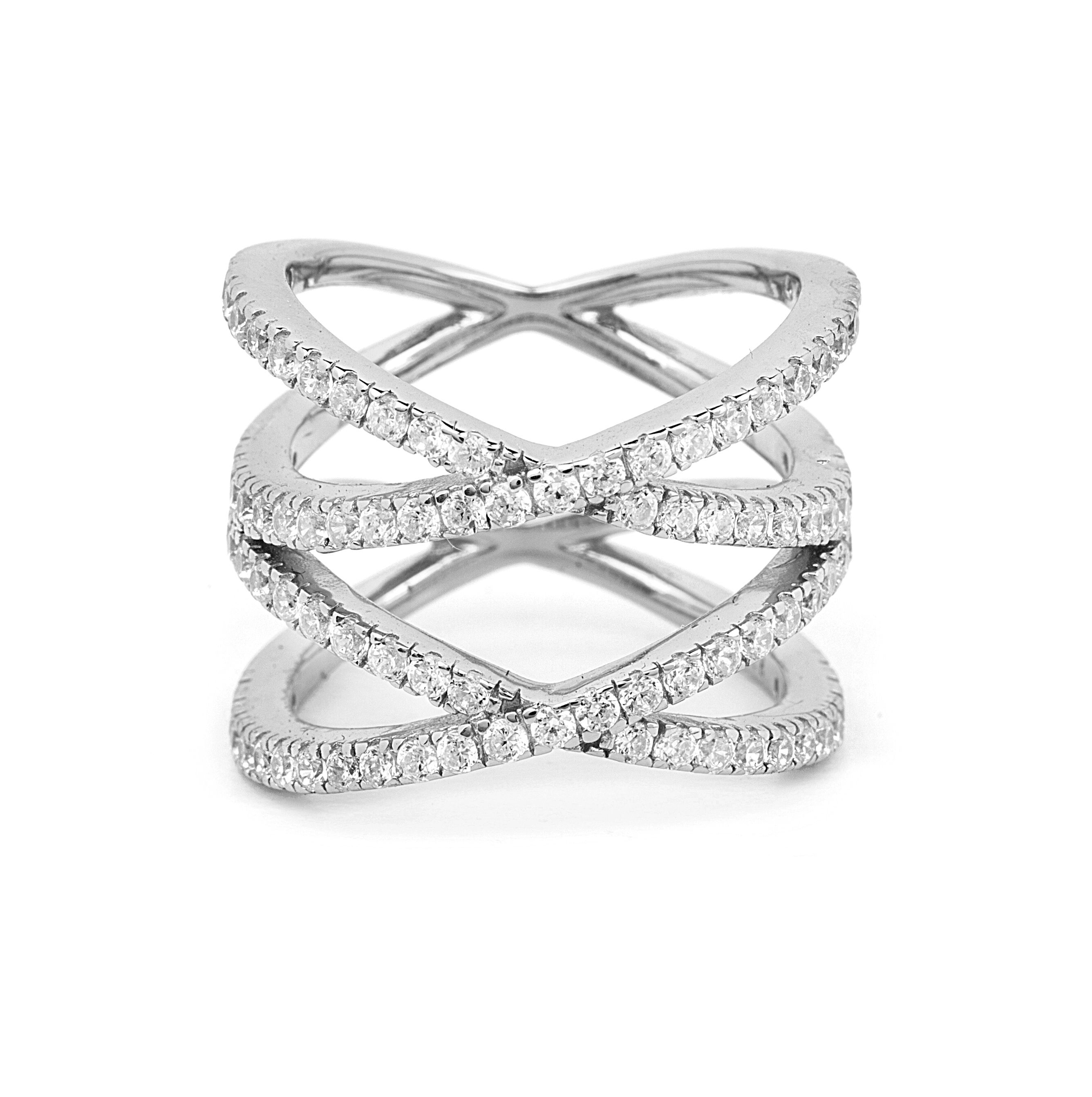 fitted kelsall ring parisian cage rings harriet engagement set caged wedding