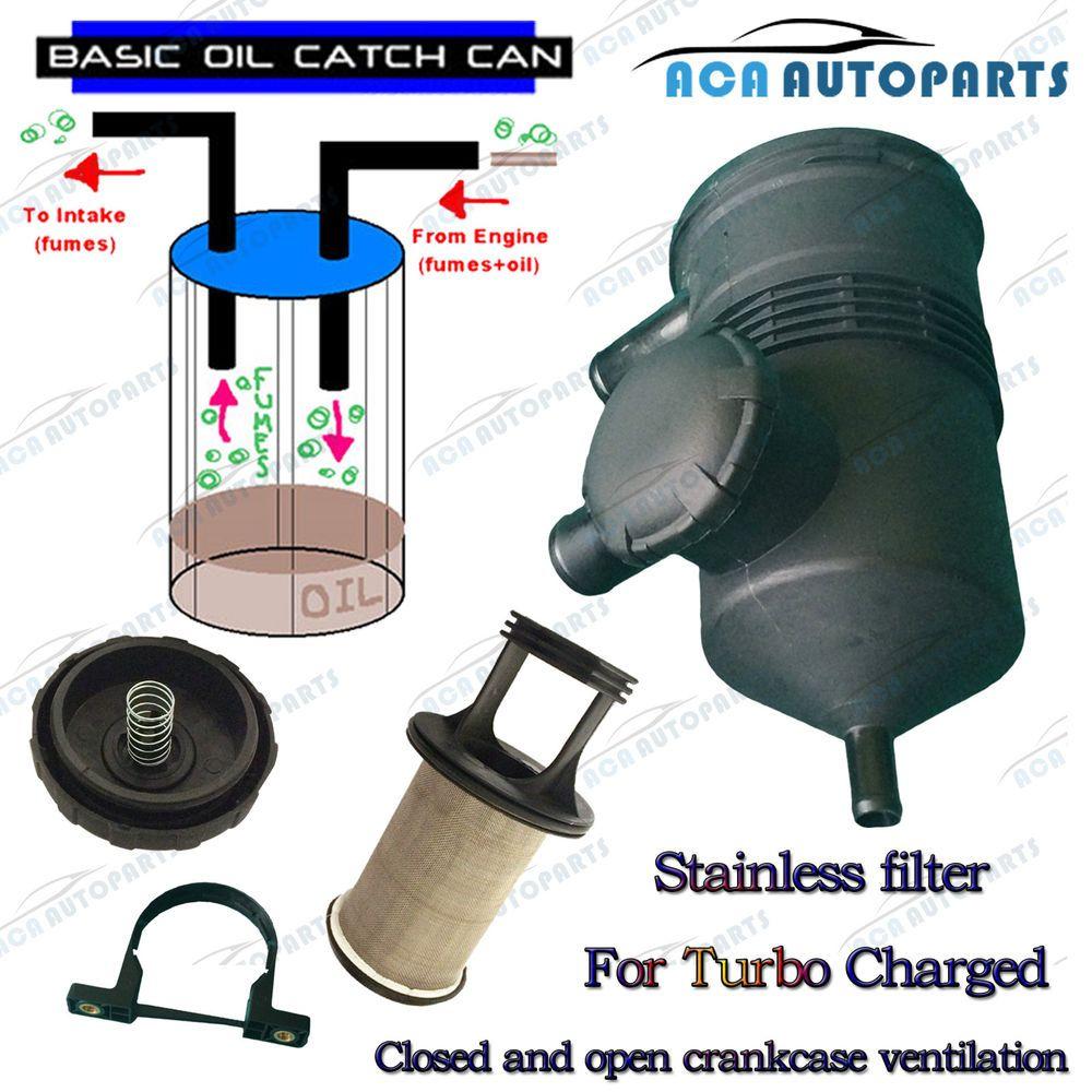 Details about Oil Catch Can Fit Hilux Landcruiser Prado D4D D40 ZD30