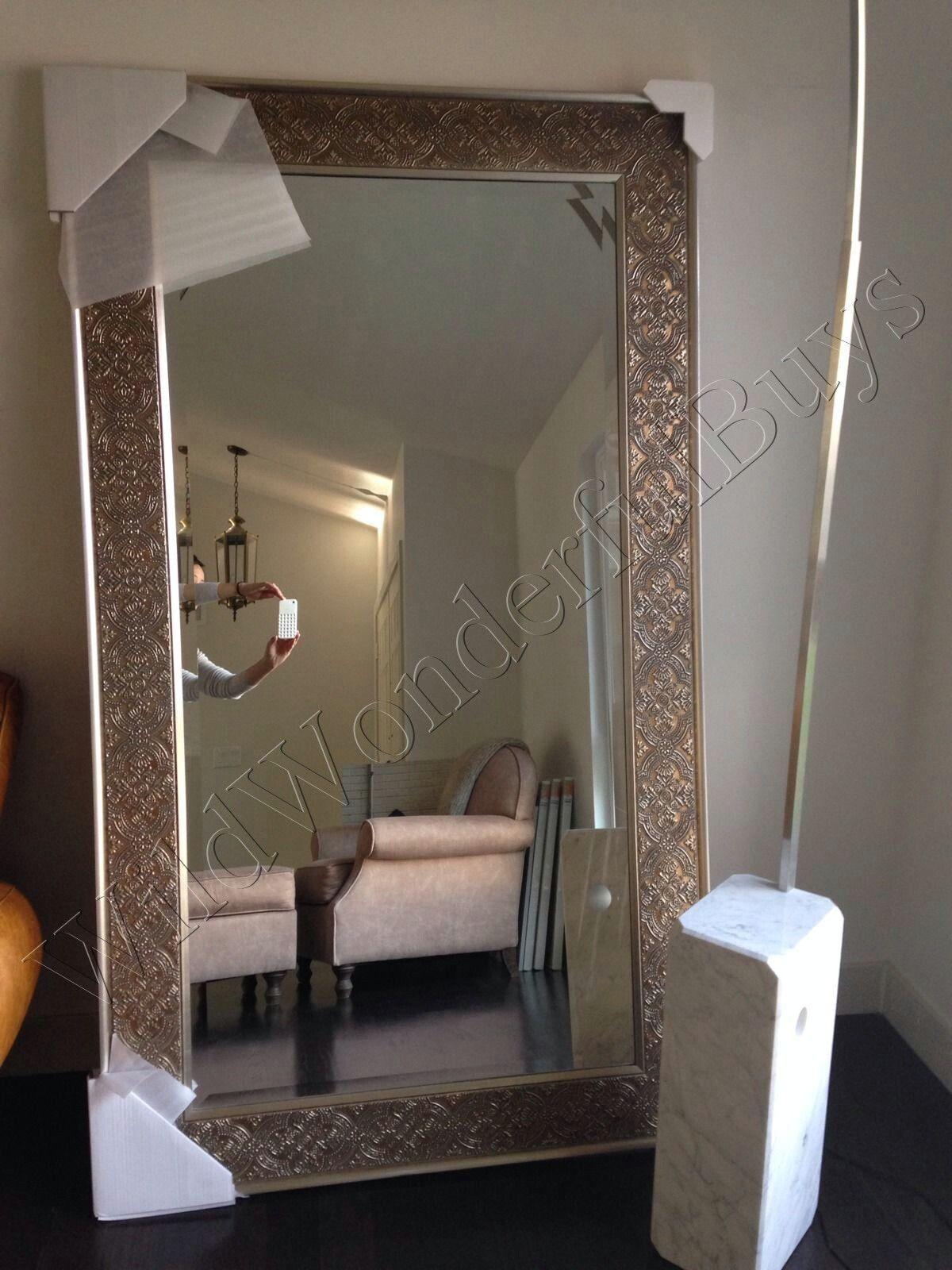"""Pale Bronze Full Length Dressing Floor Mirror 70"""" Leaner"""