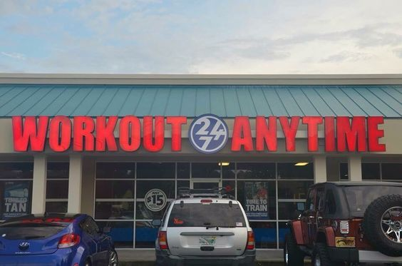 Workout Anytime Panama City Beach Fl Gym Personal Training Fitness Exercise 24 7 24 Hr Tanning Matrix Plate Anytime Fitness Workout Panama City Beach