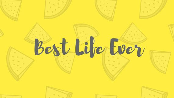 Best Life Ever Desktop Wallpaper Yellow And By Twolovinghands Laptop Wallpaper Desktop Wallpapers Computer Wallpaper Desktop Wallpapers Yellow Aesthetic