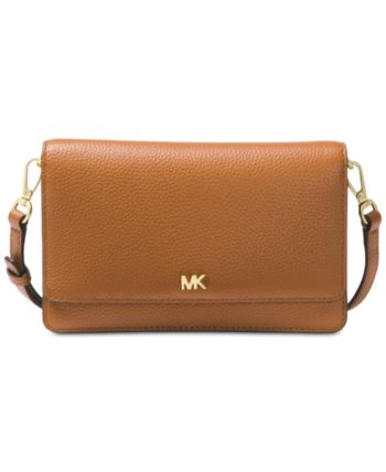 Michael Kors Pebble Leather Phone Crossbody Wallet & Reviews