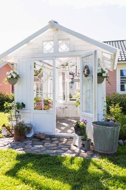 abri de jardin | Home sweet Home | Pinterest | Garden ideas and Gardens