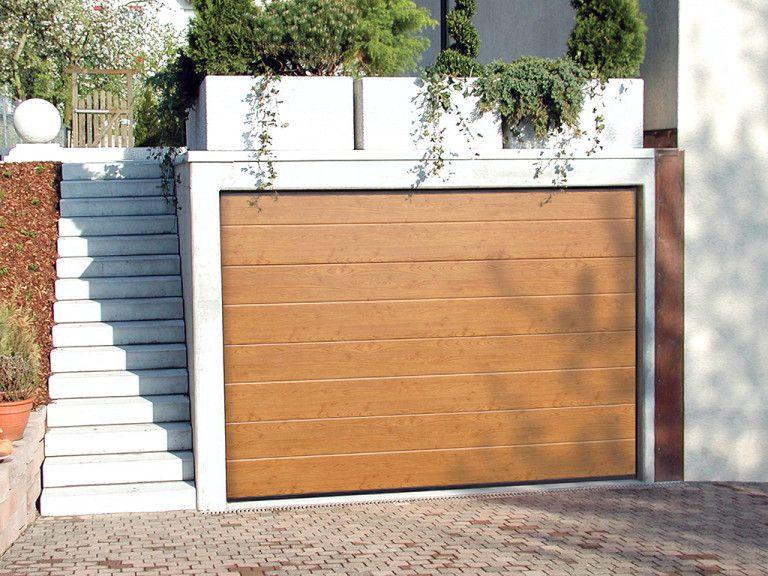 Ryterna R40 Garagen Sektionaltore Garagensektionaltor Typ R40 Von Ryterna Im Vergleich Metallbau Garage Haus