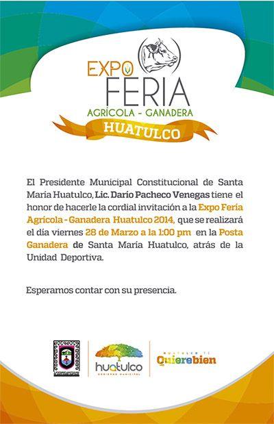 Expo Feria Agricola Ganadera Huatulco 2014 Viernes 28 Sabado