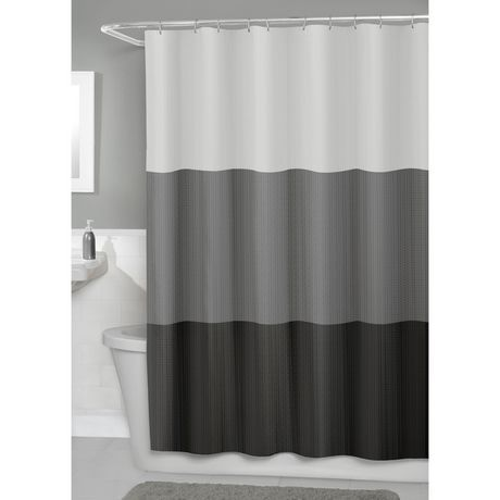 Hometrends Fabric Shower Curtain Multi Fabric Shower Curtains