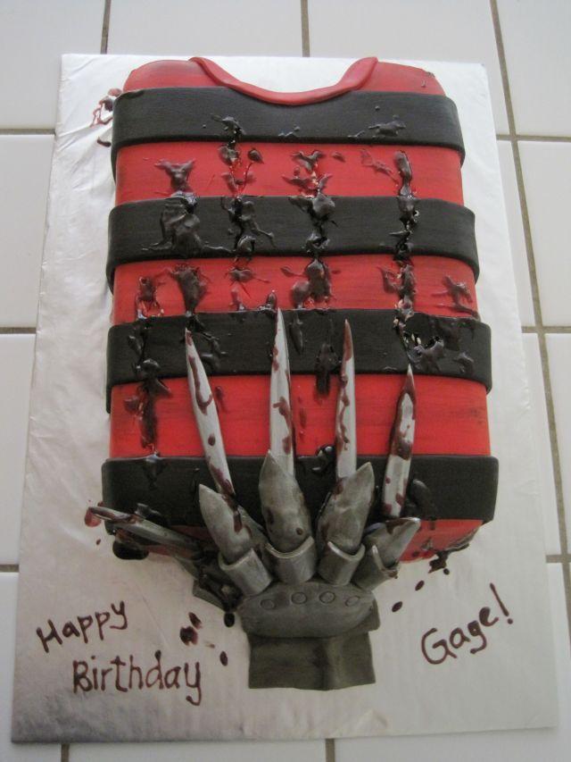 Freddie Krugar cake yourhappybaker blogspot com   Cakes