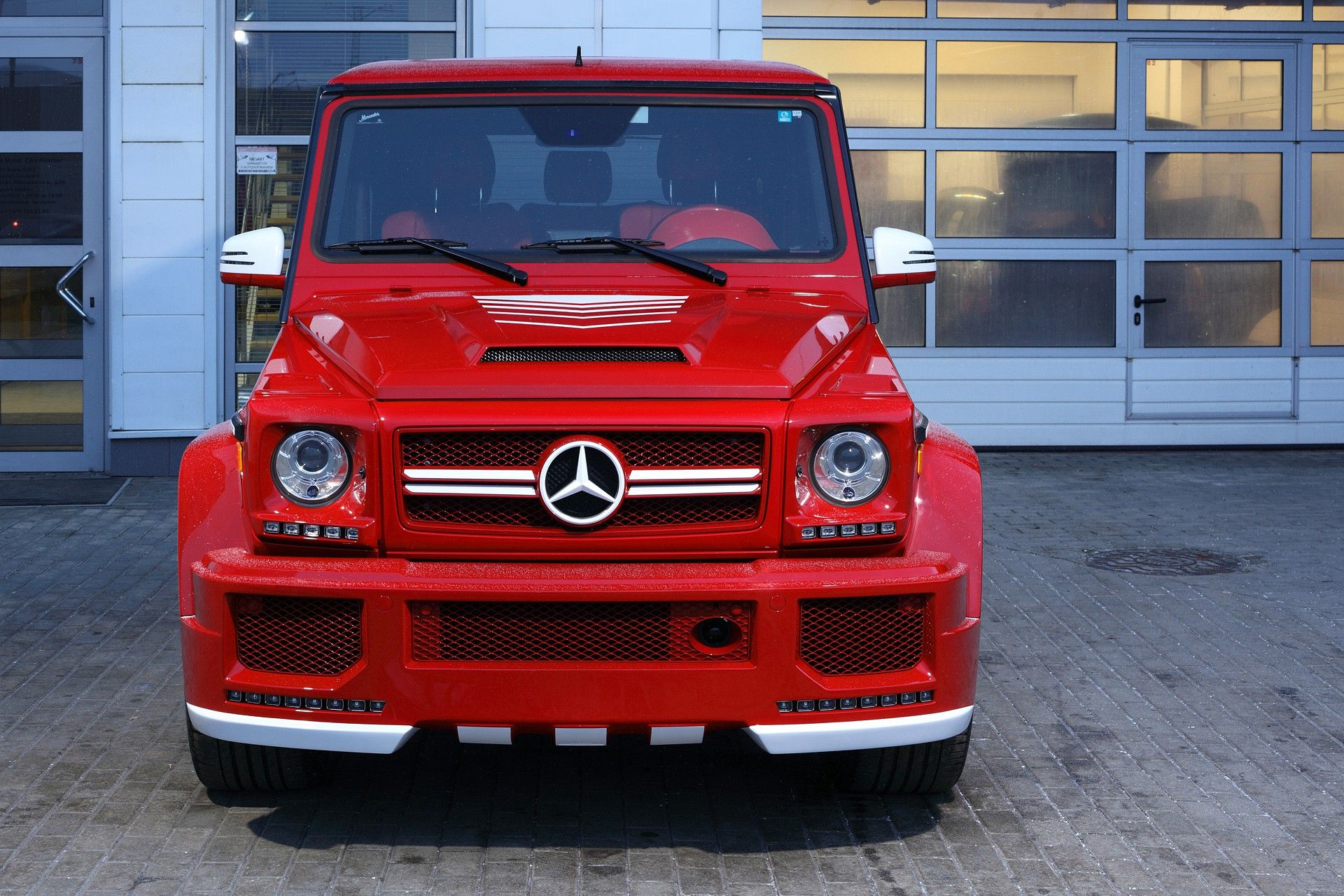 Mercedes Benz G63 Red Topcar Benz G Class Mercedes