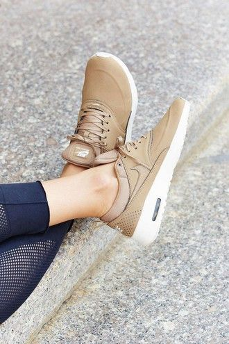 51519f92f6f2 shoes nike nike shoes nike sneakers air max nike air max thea nude sneakers  brown gold tan women athletic