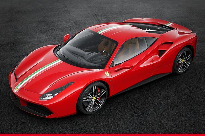 Here's the #Ferrari70 livery Essence of a Ferrari, inspired by the iconic #Ferrari 250 GTO.