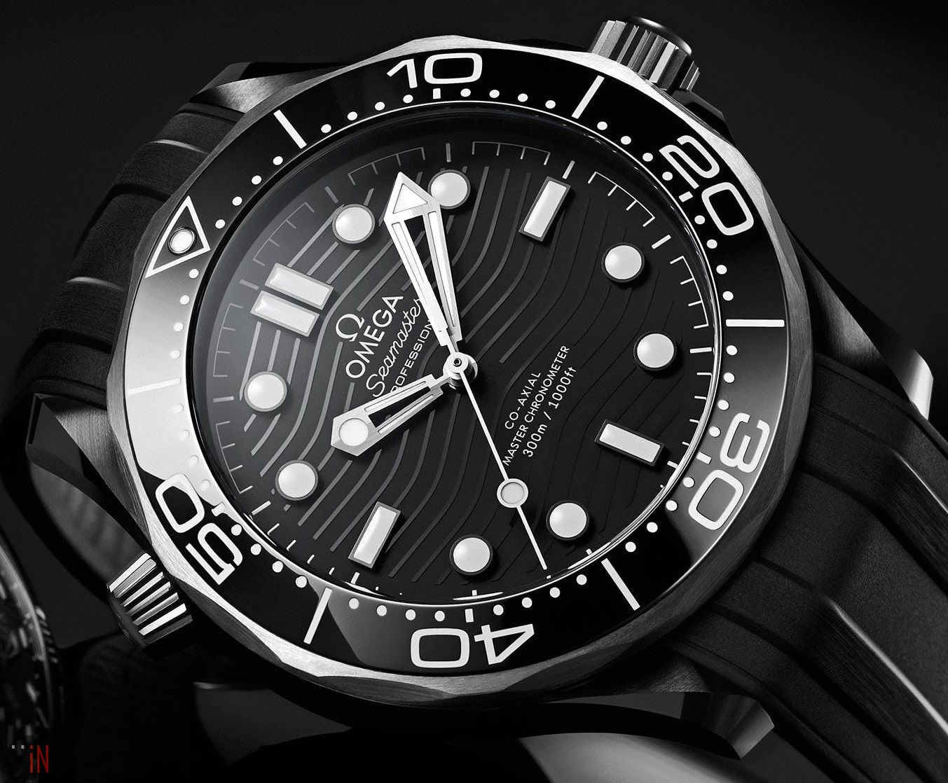 Omega Seamaster Diver 300M Black Ceramic and Titanium | Omega seamaster  diver 300m, Omega seamaster diver, Omega seamaster