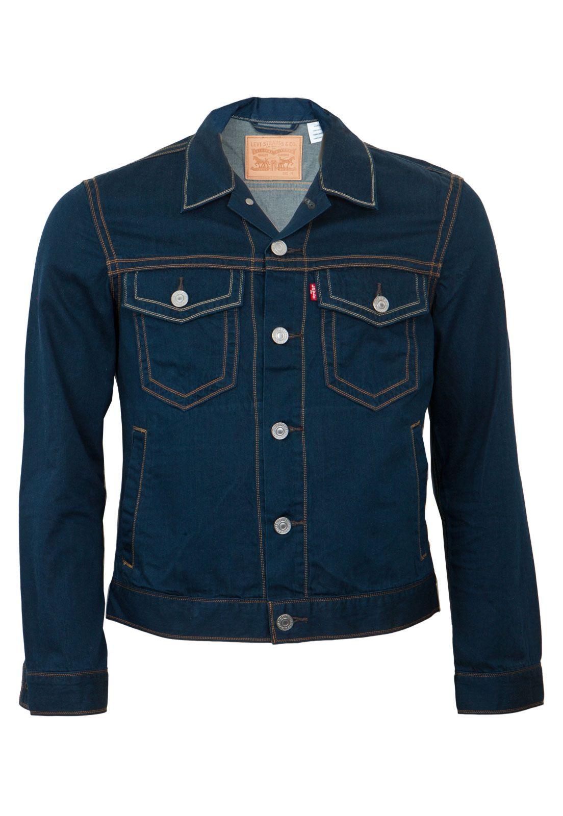 Jaqueta Jeans Levis Show Azul - Compre Agora  2a7bf397255