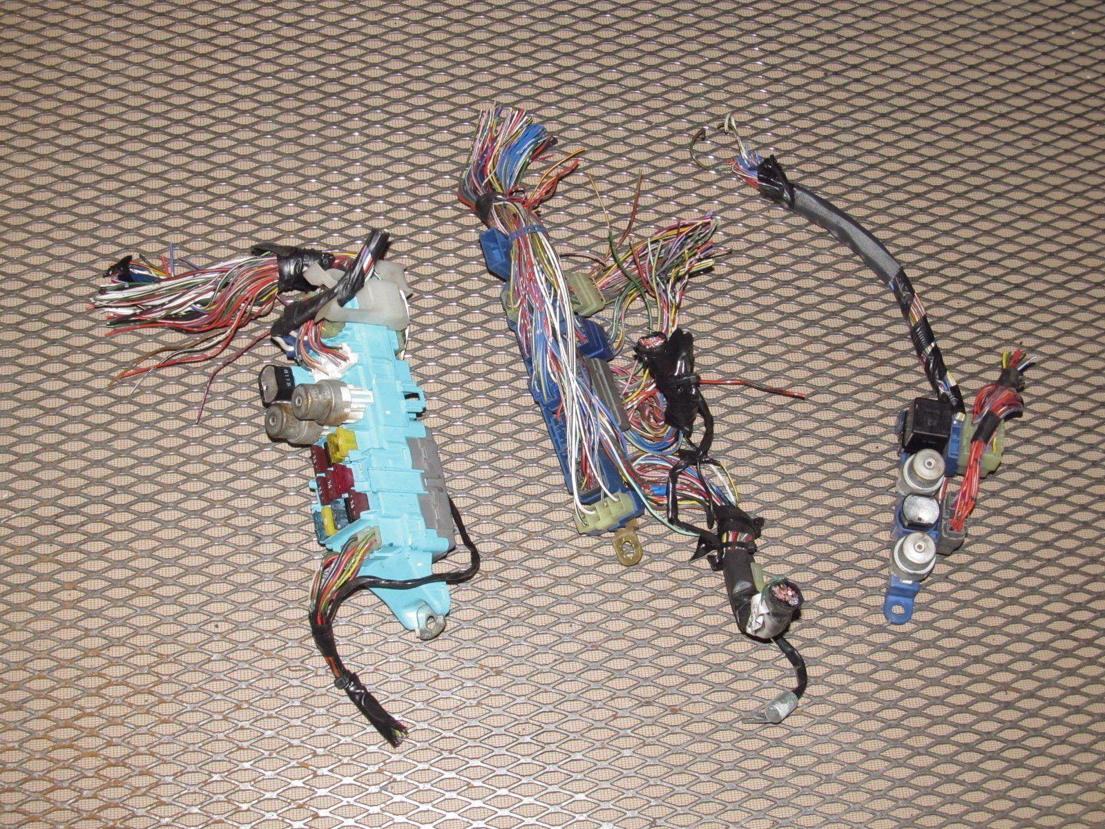 hight resolution of 89 90 91 92 toyota supra oem dash interior fuse box harness