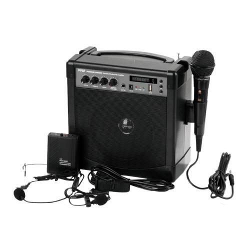 Bluetooth Wireless Streaming, Sound Around Pyle Portable Karaoke System