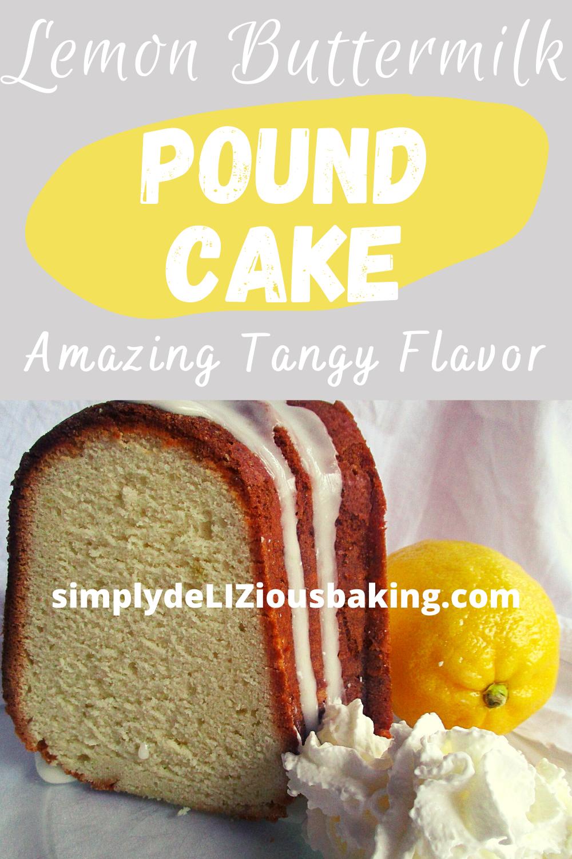 Easy Southern Lemon Pound Cake Simply Delizious Baking Recipe In 2020 Easy Homemade Recipes Recipes Best Lemon Dessert Recipe