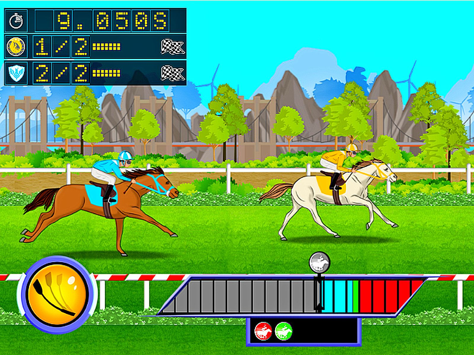 Game of the day Horse Racing Derby Quest Your a young