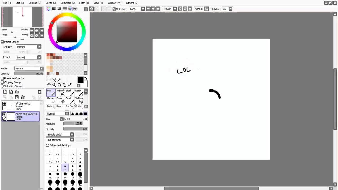 【Paint Tool Sai】- How to Make a Circle  For all my fellow artists that struggle with the perfect circle, I give you...HOW IT'S DONE! Tutortial made by Yumi-chuu Thanks for making this!