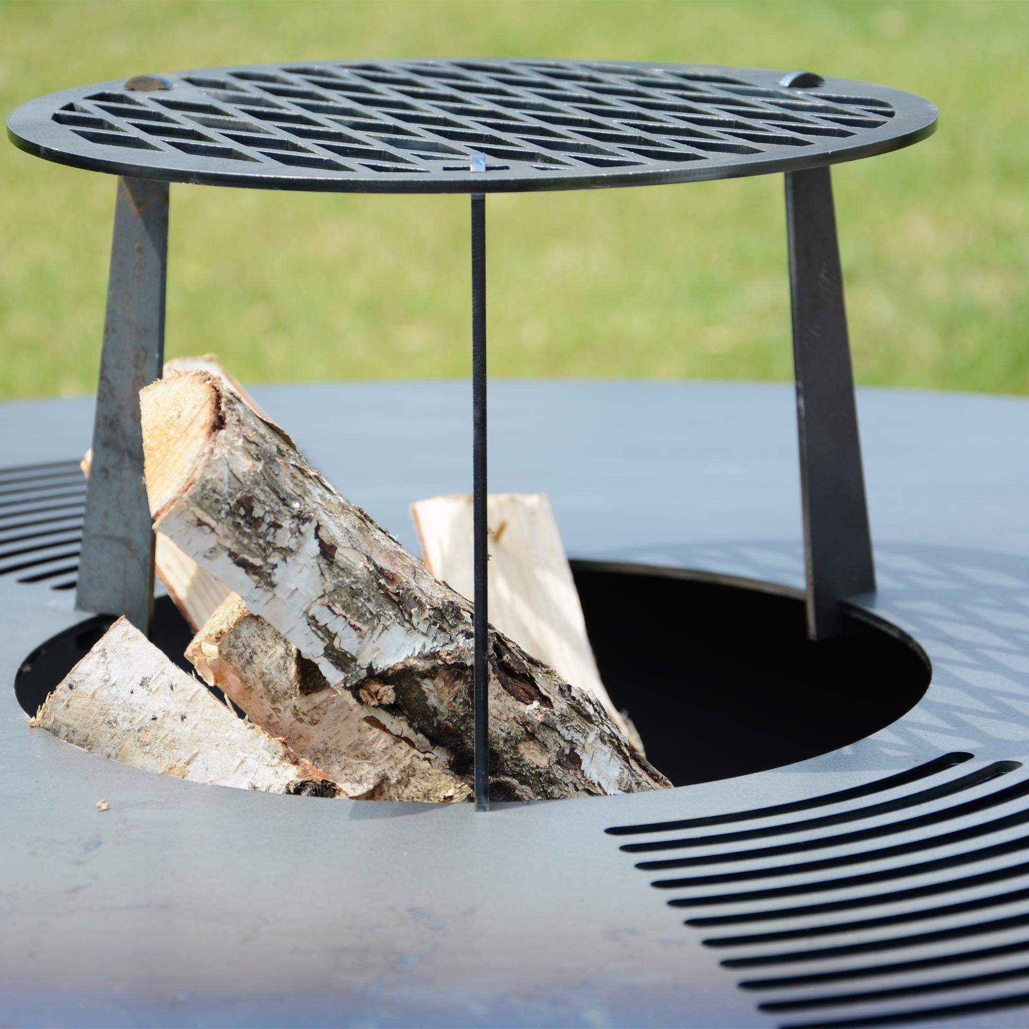 Grillplatte Plancha Feuerring Grillring Fur Gemutliches Grillen Outdoor Kuche Feuerring Grill Zubehor Gartendekoration