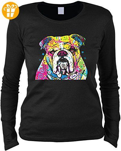 DJ Mops Neon Hoodie Kapuzenpullover Geschenk Sweatshirt Hund Motiv Sweater