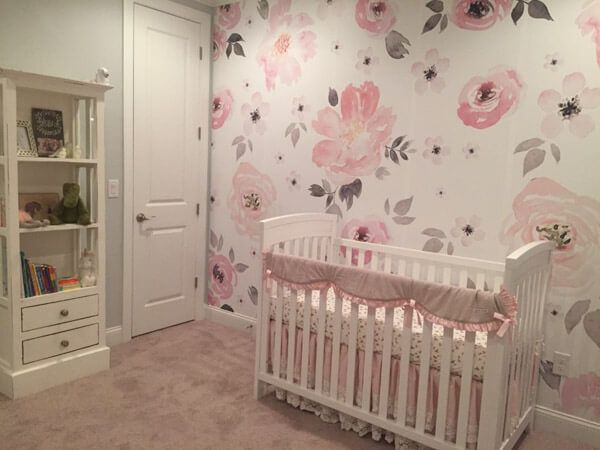 80 Adorable Baby Girl Room Ideas Shutterfly Baby Girl Room Pink Baby Girl Room Decor Baby Girl Room