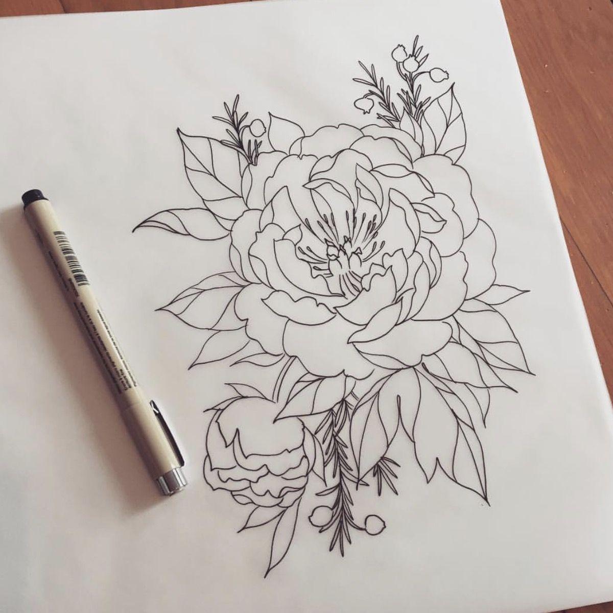 26 Peony Tattoo Designs Ideas: Tattoo Designs, Tattoos