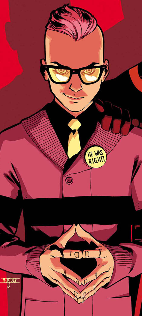 Quentin Quire Is An Omega Level Mutant Telepath Super Genius And Former Student At The Xavier Institute Comics Wolverine Marvel Marvel Comics