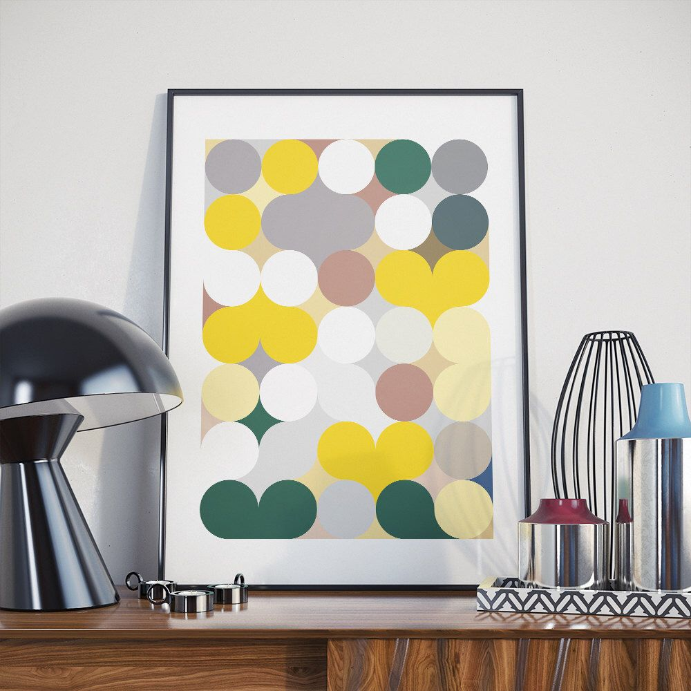 Contemporary Midcentury Wall Art Images - Art & Wall Decor ...
