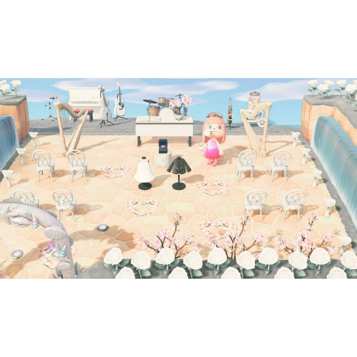 Acnh Wedding In 2020 Animal Crossing Photo Instagram