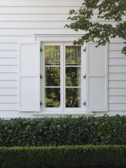 Shutter Detail House Exterior White Shutters Shutters Exterior
