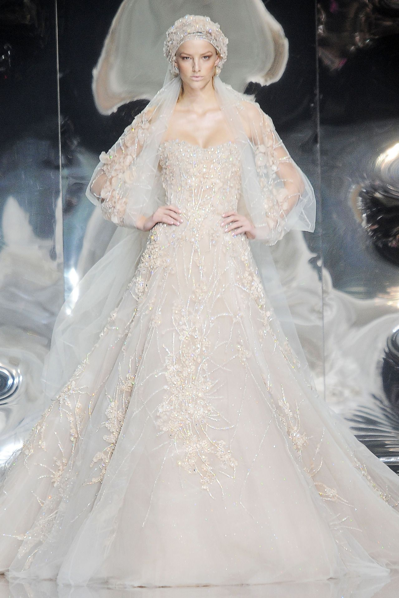 Elite wedding dresses  Sansa Stark ucQueen in the Northud  Elie Saab Haute Couture spring
